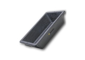 Albie cauciuc sintetic negru, bază şi pereţi întăriţi, ACS30