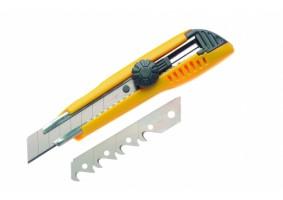 Cutter 18 mm, o lamă dreaptă, o lamă cu cârlig, CUT182L