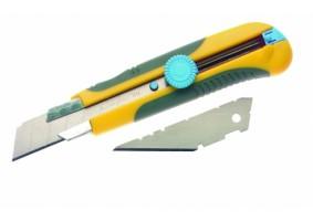 Cutter 25 mm, o lamă dreaptă, o lamă trapezoidală, CUT252l