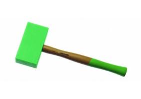 Ciocan de poliamidă, vârf dreptunghic, 145x75x35 mm, MAC35