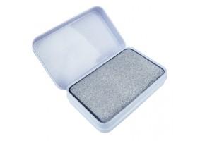 Piatra 2 in 1 pentru curatarea si lustruirea penelor de sudura 80*50*14 mm, cutie metal
