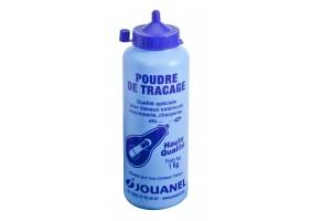 Pudra pentru trasat calitate superioara, Albastru, 1kg
