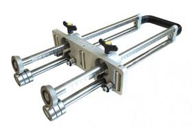 Dispozitiv manual de indoit tabla, coloana dubla, PLIMDC3-350