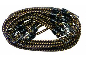 Set de 10 elastice cu cârlig, 10 mm, lungime 1 m, SW1